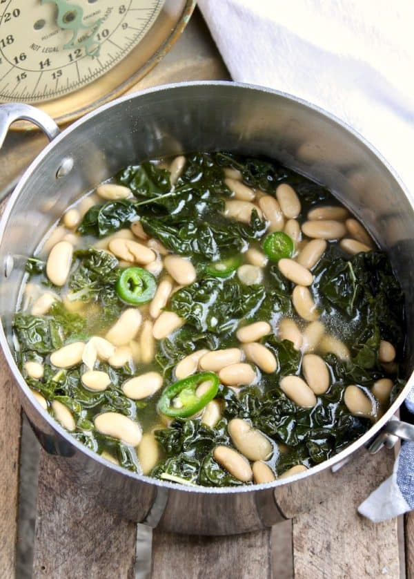 Tuscan Kale and Cannellini Bean Soup