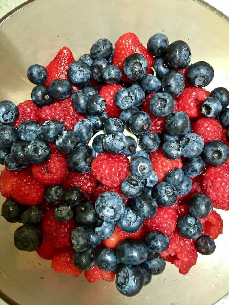 Balsamic Berry Sauce