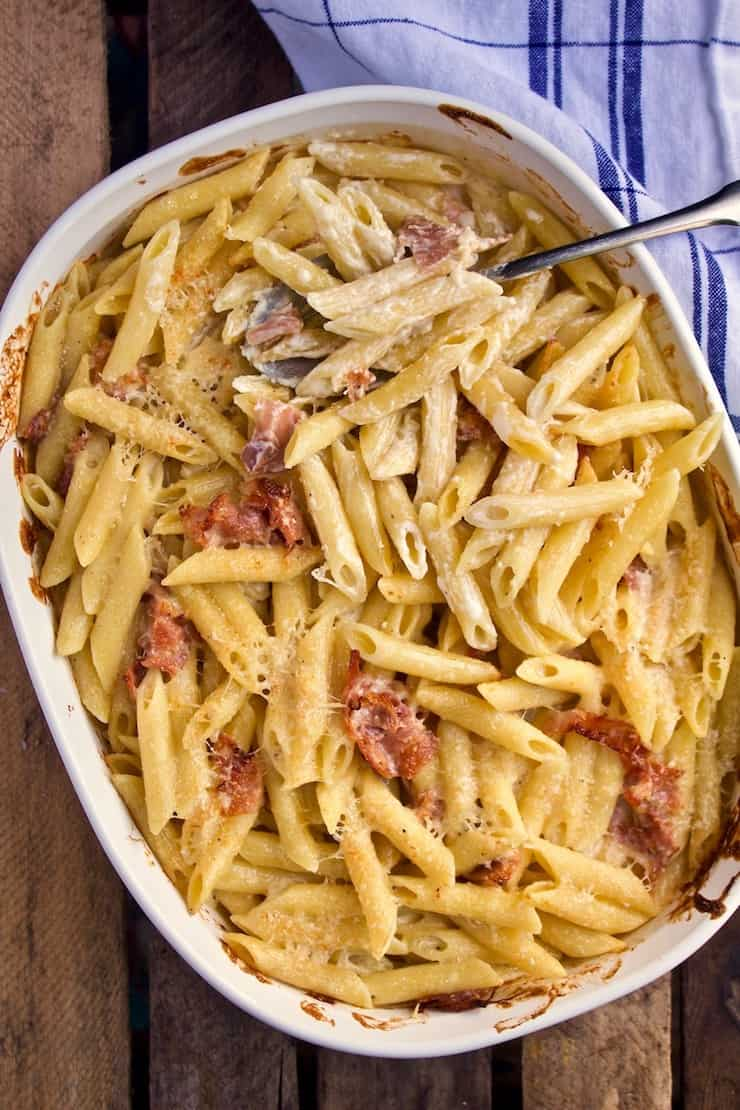 picture Penne With Prosciutto