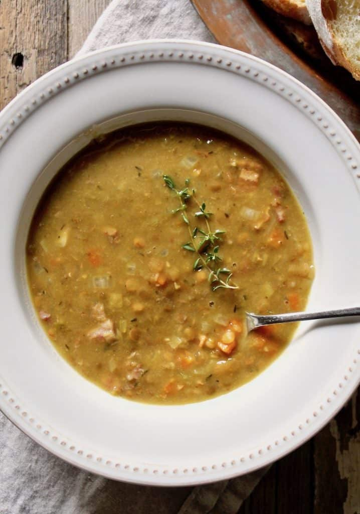 Split Pea and Lentil Soup