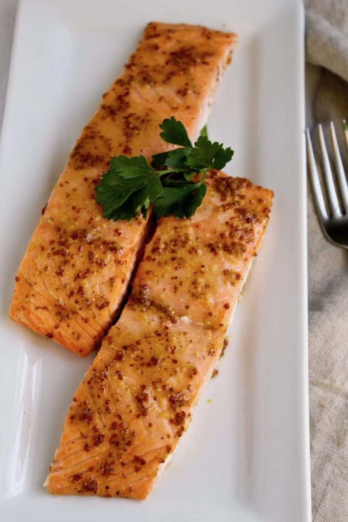 Roasted Glazed Salmon