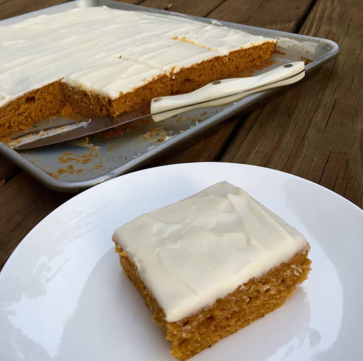 Prize-Winning Pumpkin Bars