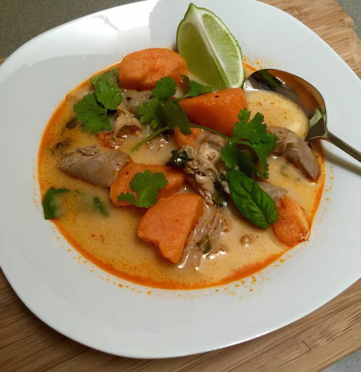 Turkey Curry Soup