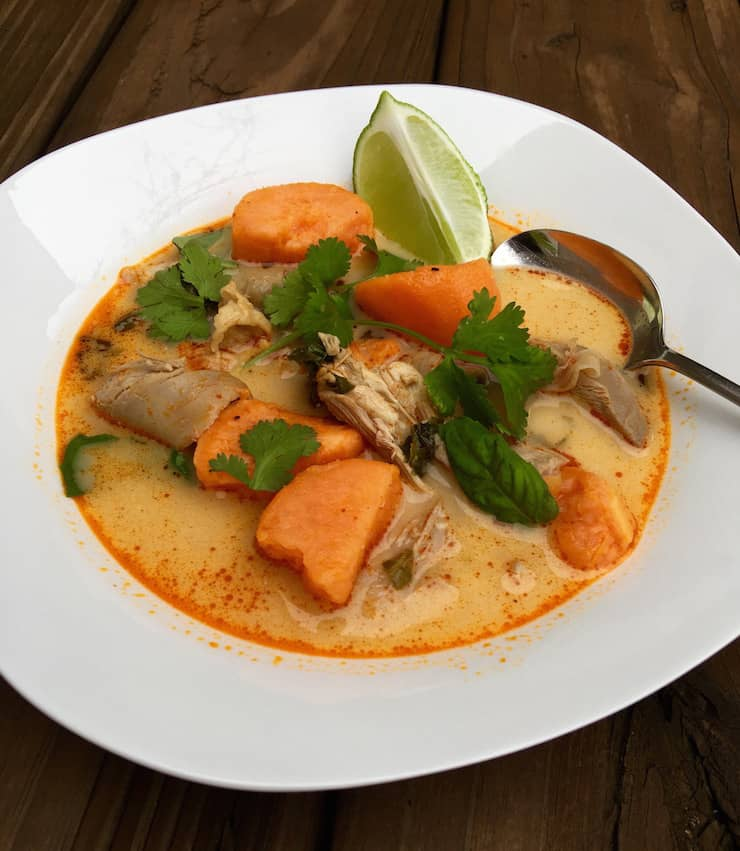 ... spicy turkey curry soup recipes dishmaps sweet and spicy turkey curry