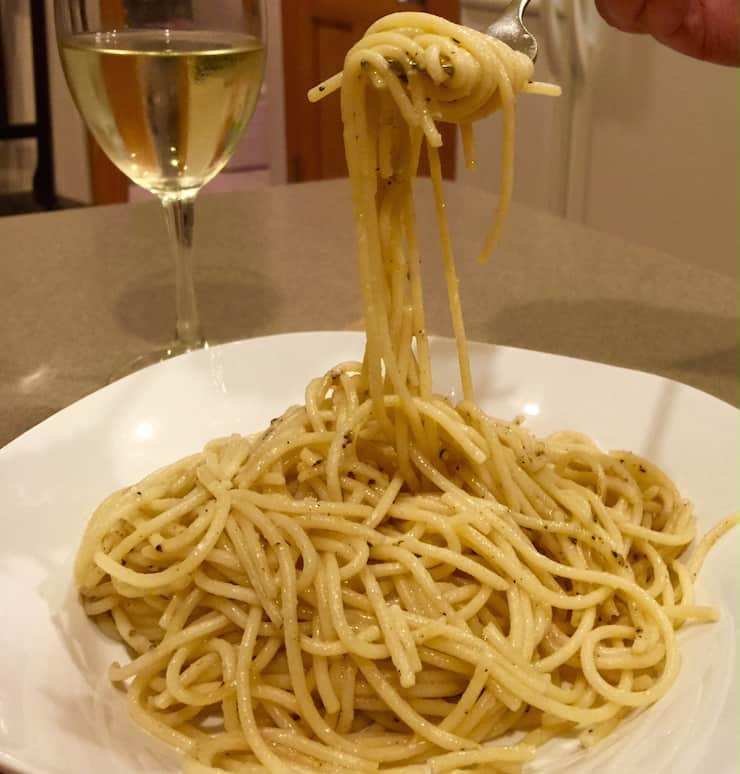 My Cousin Recently Visited Italy And She Was Telling Me About Their Favorite Dish They Had In Rome A Simple Spaghetti With Cheese And Black Pepper