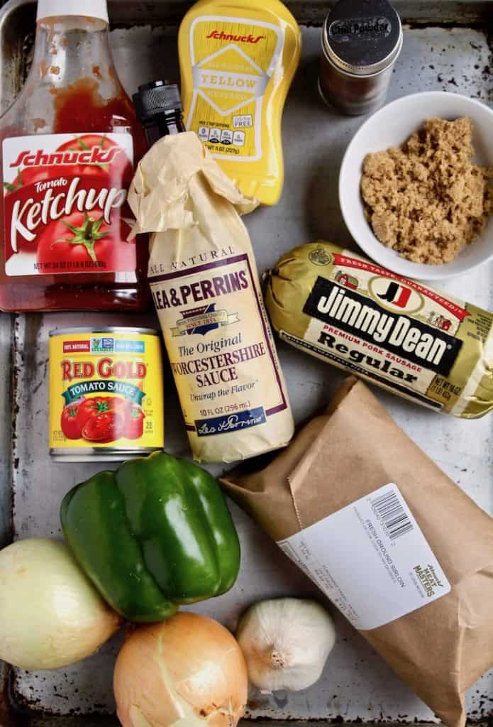 Sloppy Joes, ingredients photo