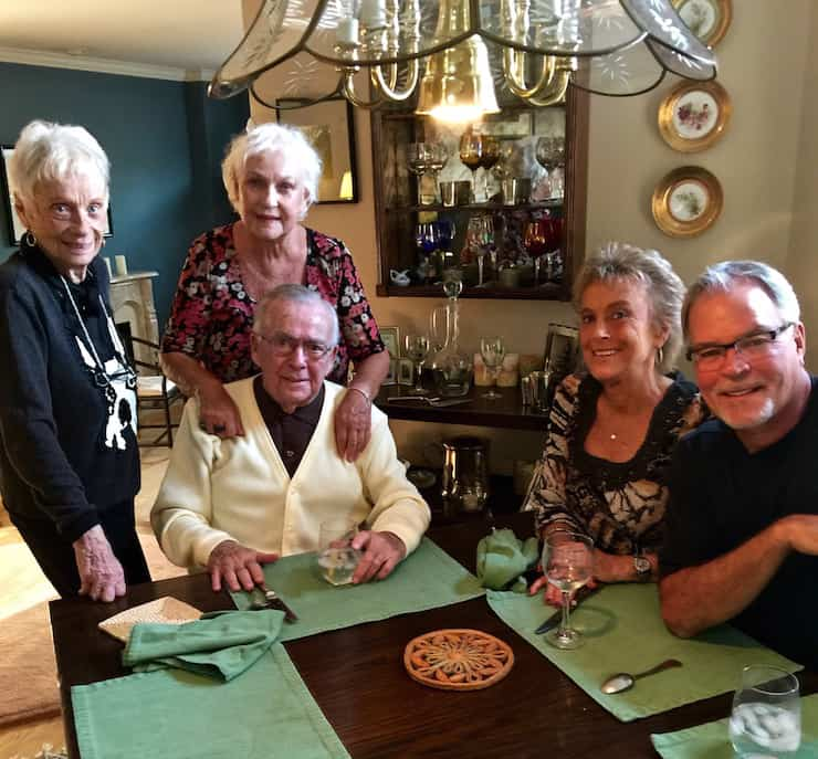 Aunt Nancy, Mom, Uncle Joe, Liz & Jeff