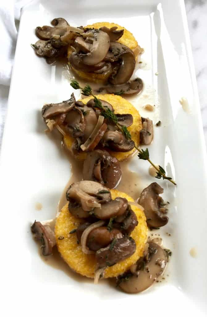 baked polenta with mushrooms polenta with wild mushrooms soft polenta ...
