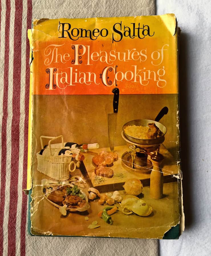 Romeo Salta cookbook of my dad's.