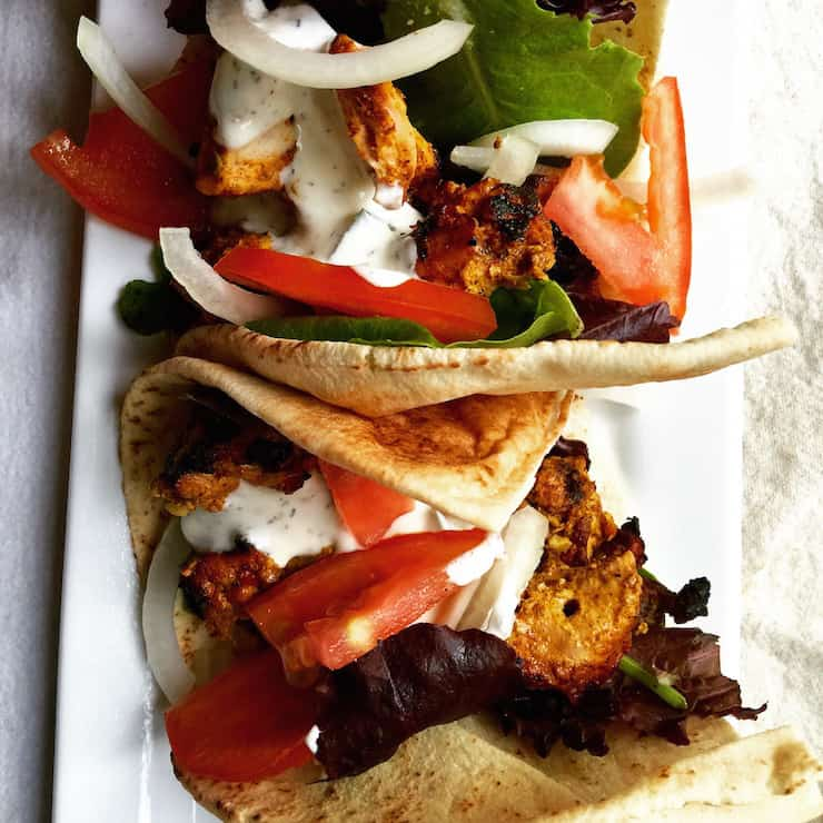 Middle Eastern Chicken Skewers