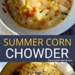 Summer Corn Chowder Pin