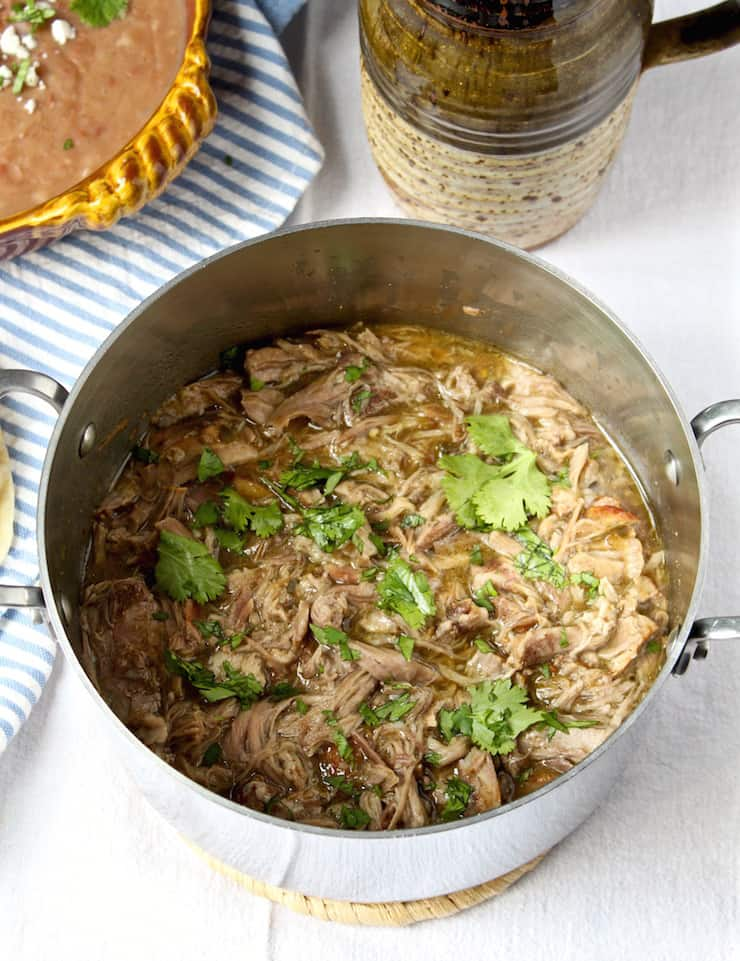 Easy Pork Chile Verde