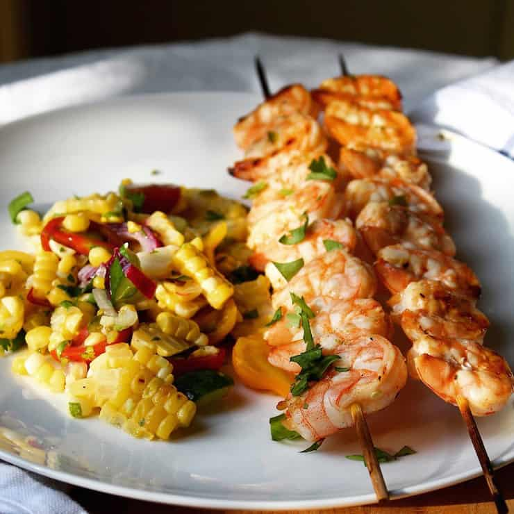 Perfect with grilled shrimp