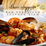 Classic Cioppino pin for Pinterest