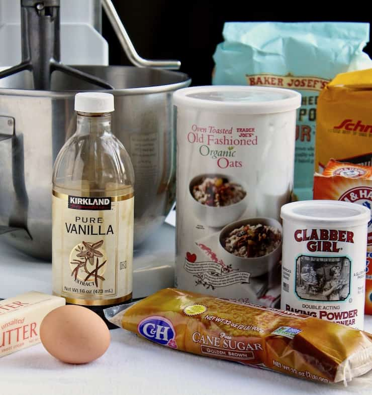 Old-Fashioned Oatmeal Cookies photo of ingredients