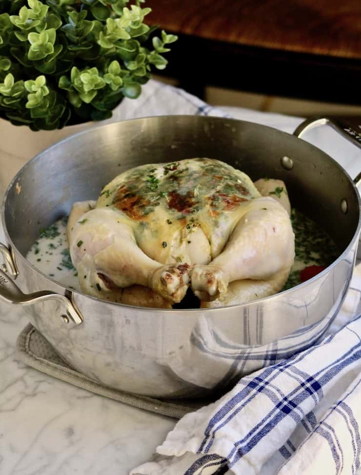 One-Pot Coconut Roasted Chicken