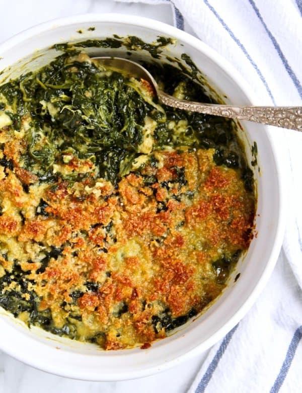 Grandmother's Spinach Rockefeller Recipe