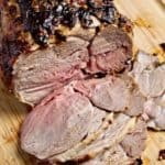 Mustard and Herb Roasted Leg of Lamb