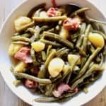 Country Green Beans, Potatoes and Ham in the Instant Pot