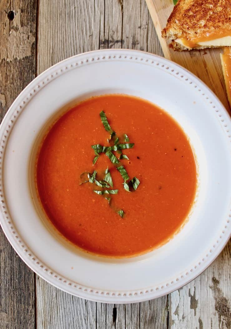 Roasted Fresh Tomato Bisque
