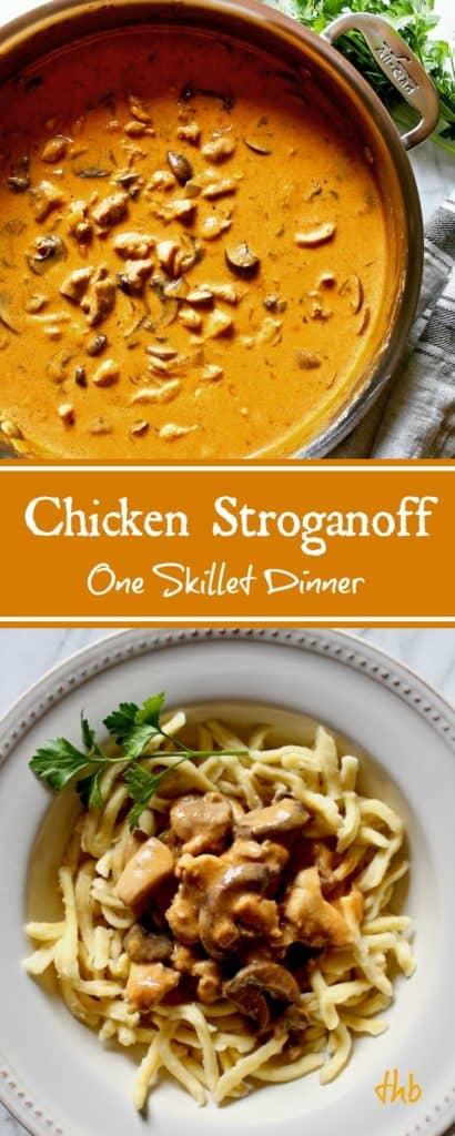 Chicken Stroganoff