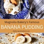 Magnolia Bakery's Famous Banana Pudding, pin for Pinterest